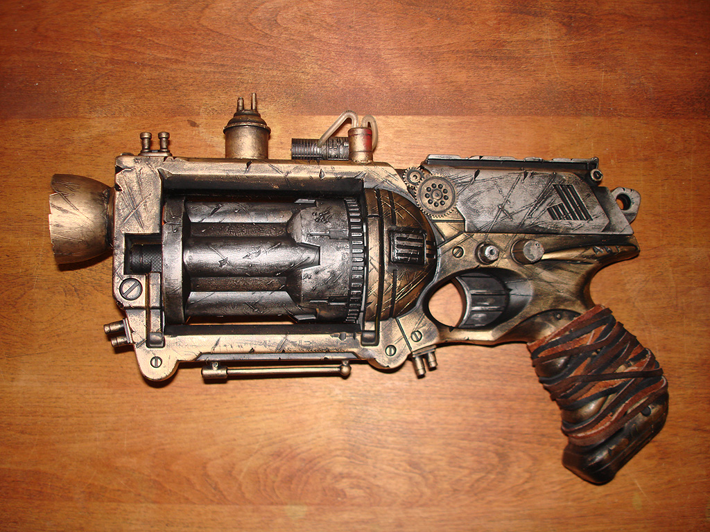 Steampunk Nerf Gun Fabrication