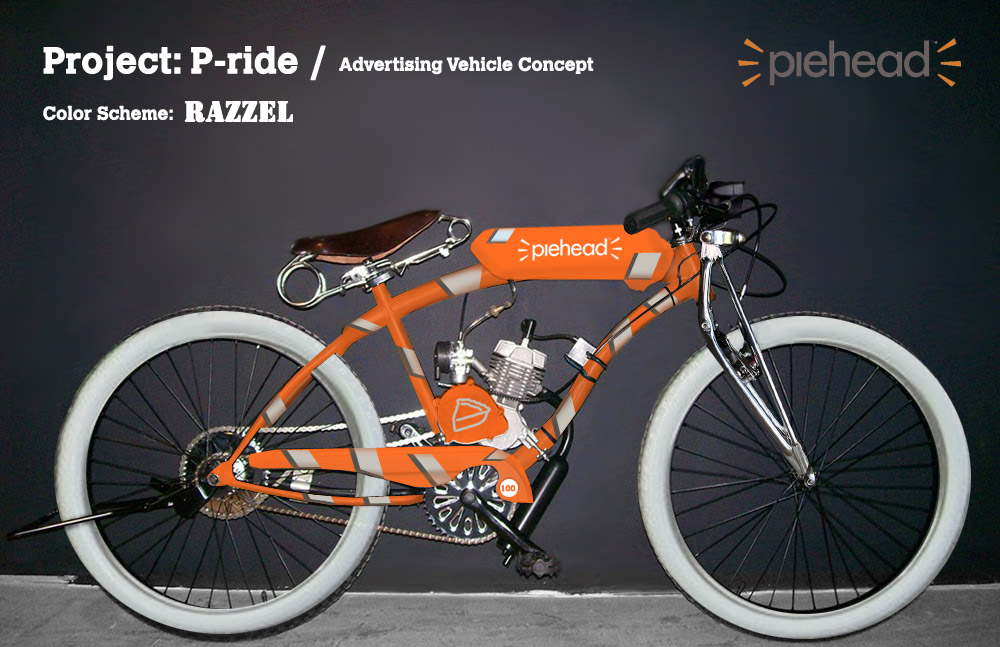Project: P-ride / Advertising Vehicle Concept | Jeremy Clough