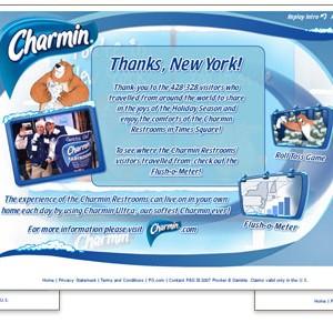 Charmin Go in Style UI Design
