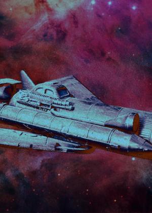Steampunk Spaceship Toy